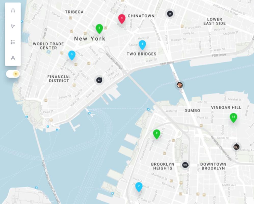 Route Optimization Comparison | GSMtasks on map multiple addresses, map multiple destinations, map multiple sites, map multiple stops,